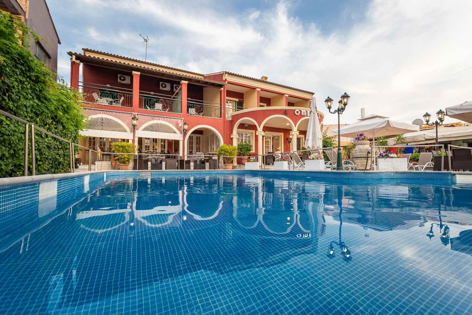 Omiros Hotel, Pool Area