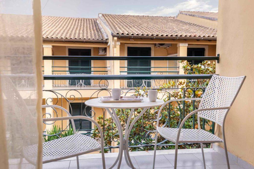 Balcony, Omiros Hotel-Gouvia